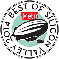 Metro's The Best of Silicon Valley 2014 Award