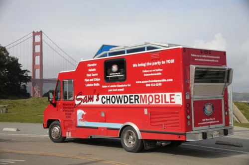 Sam's ChowderMobile at Golden Gate Park