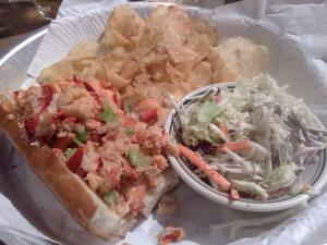 Sam's ChowderMobile Maine Lobster Roll