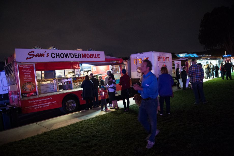 San Francisco Chronicle 20 Best Food Trucks includes Sam's ChowderMobile